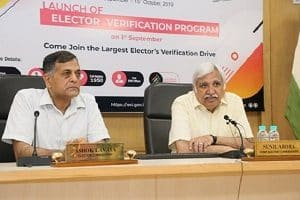 "Election Commission of India launches ""Electors Verification Programme"