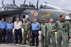 First-ever arrested landing of LCA Tejas successfully