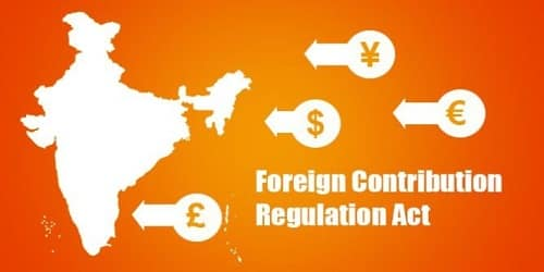 Foreign Contribution (Regulation) Act, 2011