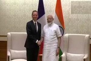 France's NSA Emmanuel Bonne visit to India
