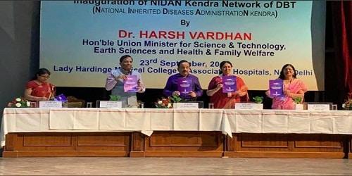 Harsh Vardhan launched 'UMMID'