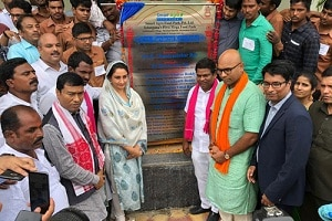 Harsimrat Kaur Badal inaugurates food park of Telangana