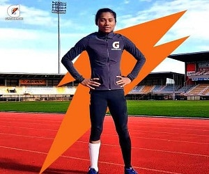 Hima Das appointed as brand ambassador for Gatorade
