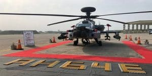 IAF receives 8 US-made 'Apache AH-64E' fighter helicopters