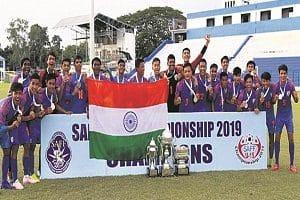 India clinched SAFF U-15 Championship 2019