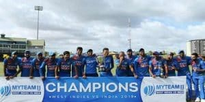 India won the 3 match series 3-0 against West Indies