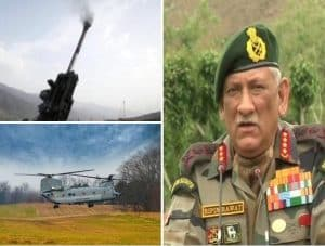 Indian army will conduct a large war exercise near china border named 'HimVijay'