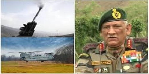 Indian army will conduct a large war named 'HimVijay'