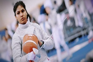 Indian fencer Bhavani Devi wins silver in the 2019 Tournoi Satellite Fencing competition