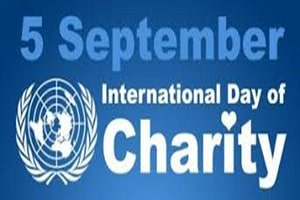 International Day of Charity on 5th September