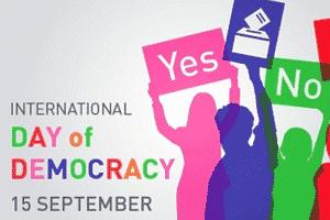 International Day of Democracy 2019