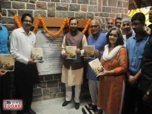 Javadekar inaugurates the renovated Jayakar bungalow at NFAI in Pune