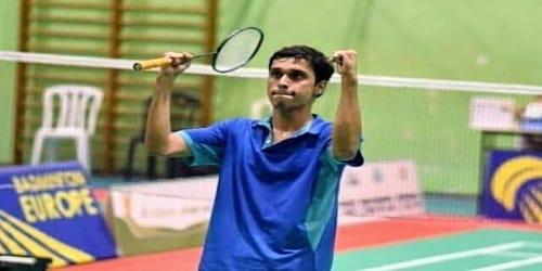 Kaushal Dharmamer wins men's singles title in the Myanmar International Series 2019