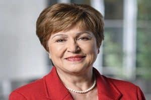 Kristalina Georgieva is the IMF's new chief