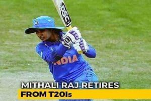 Mithali Raj-Indian woman cricketer retires
