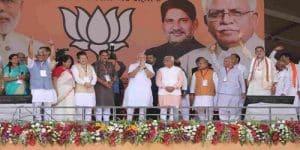 Modi's visit to Haryana