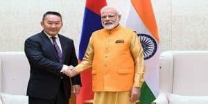 Mongolian President Battulga's Visit to India