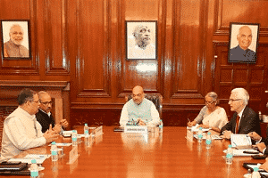 Mr. Jürgen Stock, called on Union Home Minister, Shri Amit Shah