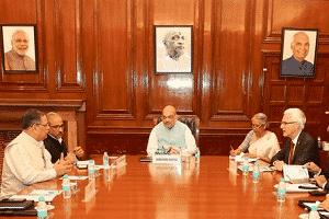 Mr. Jürgen Stock, called on Union Home Minister, Shri Amit Shah