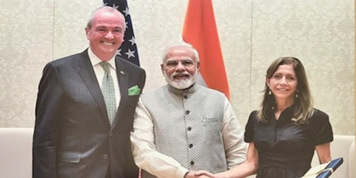 New Jersey Governor Phil Murphy visit to India