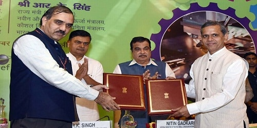 Nitin Gadkari and Shri RK Singh inaugurated National Conclave on Energy Efficiency in MSME