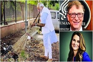 "PM Modi to get Bill and Milinda Gates Foundation's ""Global Goalkeeper Award 2019 """