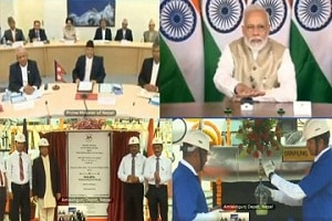 PM of India & Nepal jointly inaugurate South Asia's first cross-border petroleum products pipeline from