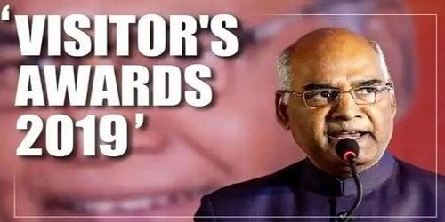 President's secretariat announces recipients of Visitor's Awards 2019
