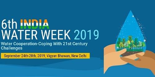 President inaugurates 6th India Water Week 2019
