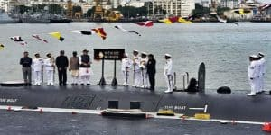 Rajnath Singh commissions 2nd INS Khanderi