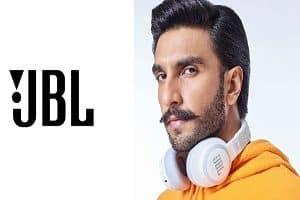 Ranveer Singh signed as JBL's new global brand ambassador