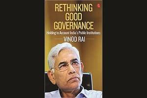 'Rethinking Good Governance' authored by the former CAG Vinod Rai
