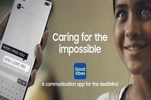 Samsung unveils 'Good Vibes' and 'Relumino' app