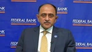 Shyam Srinivasan as MD & CEO of Federal Bank