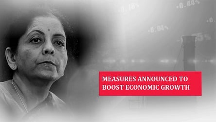 Smt. Nirmala Sitharaman's presentation on measures to boost economic growth
