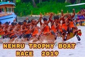 Snake boat Nadubhagam Chundan clinched the 67th Nehru Trophy
