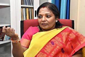 Telangana governor Tamilisai
