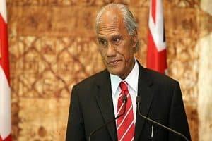 Tongan PM Akilisi Pohiva