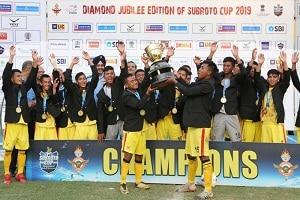 Under-17 Junior Boys Subroto Cup International Football Tournament 2019