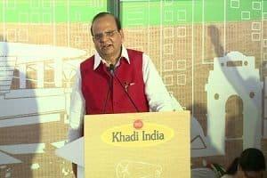 Vinai Kumar Saxena, chief of KVIC