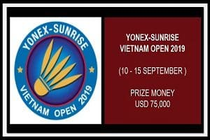 YONEX-SUNRISE Vietnam Open 2019