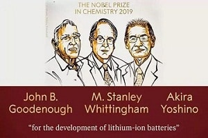 2019 Nobel prize in Chemistry