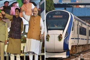 Amit Shah flagged off second Vande Bharat Express Train between Delhi and Katra