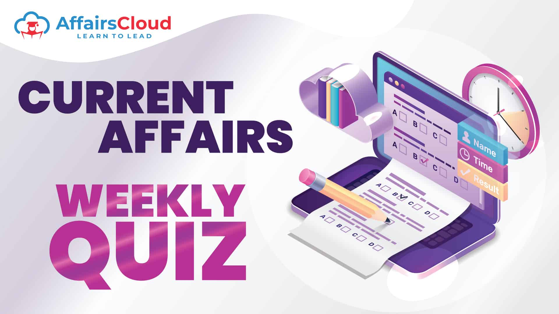 Current Affairs Weekly Quiz Landing age image