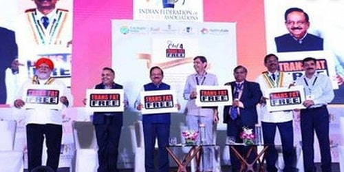 Dr Harsh Vardhan launched FSSAI's 'Trans-Fat Free' logo