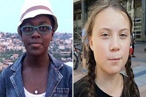 Greta Thunberg & Divina Maloum