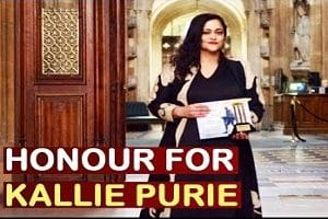 "India's Kallie Puri was awarded ""India's Most Powerful Women in Media"" award"
