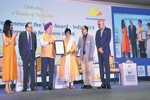 India Social Entrepreneur of the Year Award for 2019