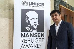Kyrgyz lawyer AzizbekAshurov wins 2019 UNHCR Nansen Refugee Award