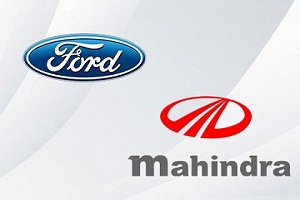 Mahindra & Mahindra formed Joint venture with Ford